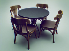 Table and Chairs (ortegabh) Tags: table 3d cg chair furniture rendering 3dfurniture