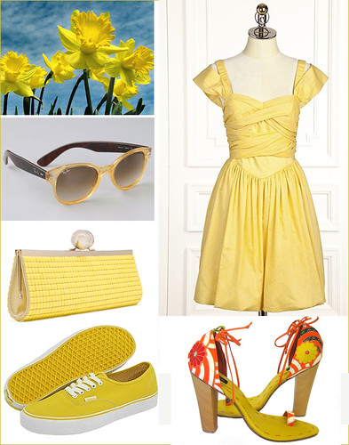 Daffodil Garden Party Outfit