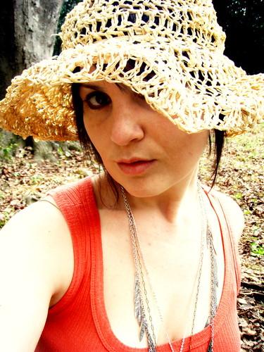 softspoken raffia sun hat
