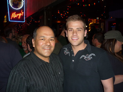 Greg Hernandez and Scott Evans by you.