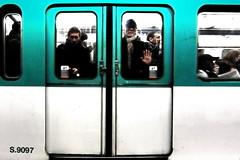 Vous êtes le numéro S.9097 - Je ne suis pas un numéro, je suis un homme libre ! (philoufr) Tags: paris subway métro madeleine frontpage ratp explored ligne12 canonpowershots90