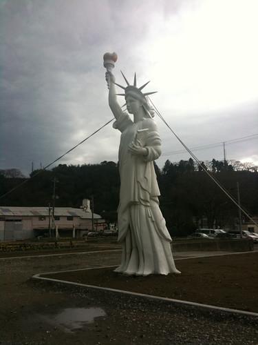 石巻の自由の女神