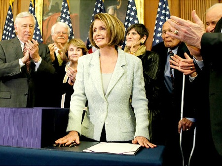 House Speaker Pelosi gets respect for HCR