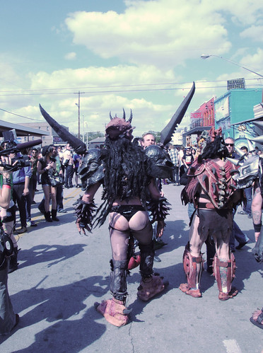 GWAR on the streets of Austin