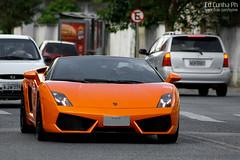 Lamborghini Gallardo LP560-4 Spyder (Ed Cunha Ph) Tags: auto orange car brasil european automotive spyder exotic curitiba coche carro lamborghini gallardo batel lp5604 lp5704