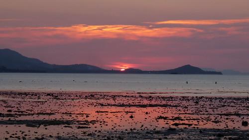 Koh Samui Sunset @Plailaem コサムイ サンセット1