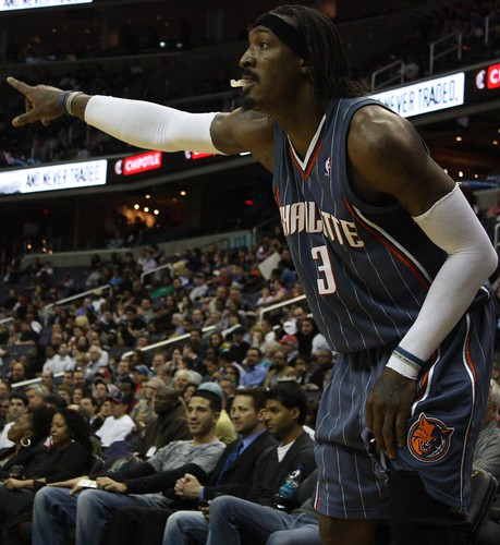 Gerald Wallace, Greivis Vasquez, Washington Wizards, NBA, Charlotte Bobcats