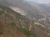 Sentiero de Rin visto dall'antenna di Conconello