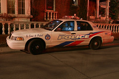 Toronto City Police Unit 1442 (HANGAR ENT.) Tags: city 2 rescue house 3 toronto ontario canada ford alarm t fire photography town photo code © 911 police down victoria mackenzie crown emergency 19 department excalibur interceptor unit cres 1442 atphotography
