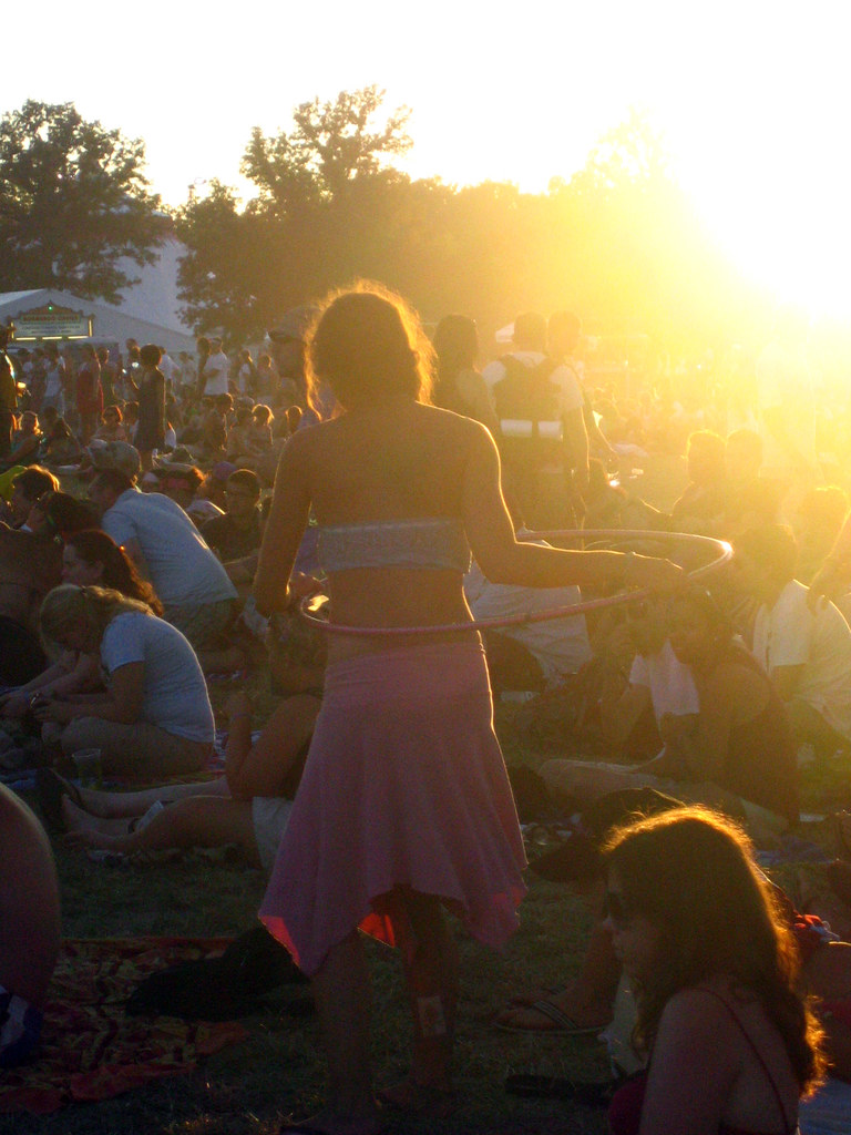 Adam from travelsofadam.com: my favorite festival photo is from Bonnaroo 2008. I feel like it gives a good sense of what being like a festival is like...