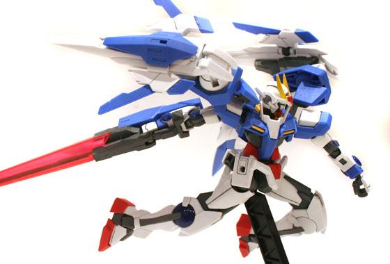 HG 1/144 GN-0000+GNR-010 00 Raiser - Complete!