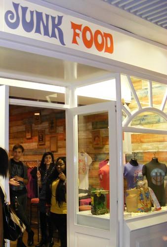 Whiteleys Pop-Up shop launch event