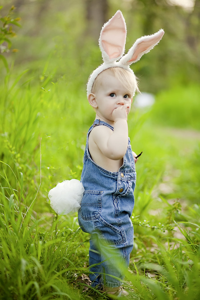 hoppy easter from the cutest baby bunny ever.