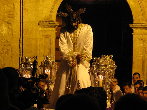 semana santa malaga 2010 jesus cautivo. Jesús Nazareno bajo la