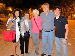 IMG_0457: Maral, Marie, Betty, Bill and Mohammed