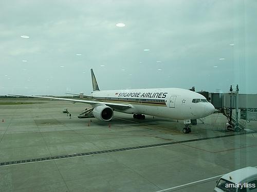 新航台北新加坡航段01