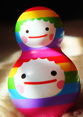 Wish Come True- Buddy Chub  043 (danimaniacs) Tags: toy rainbow colorful stripes kidrobot plastic wishcometrue buddychub