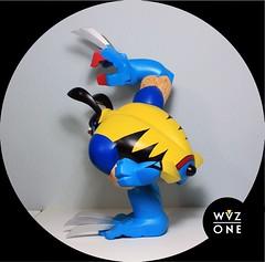 Paw Wolverine! (WuzOne) Tags: toy paw vinyl kidrobot custom marvel wolverine lobezno artoy coarsetoys wuzone