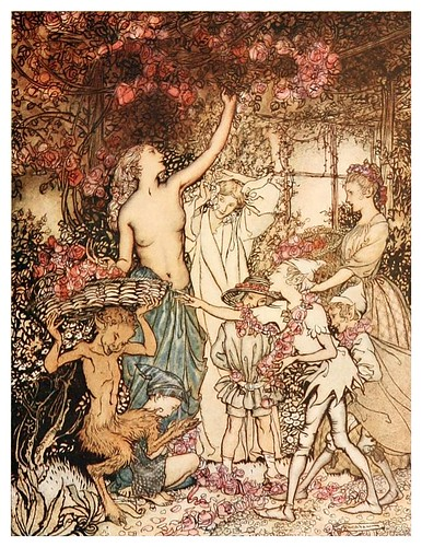 007-The springtide of life, poems of childhood (1918)- Arthur Rackham