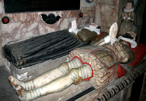 Tomb at St Mary, West Malling, Kent