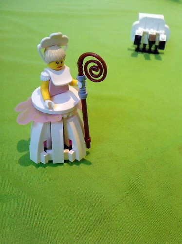 Toy Story - Bo Peep and her sheep