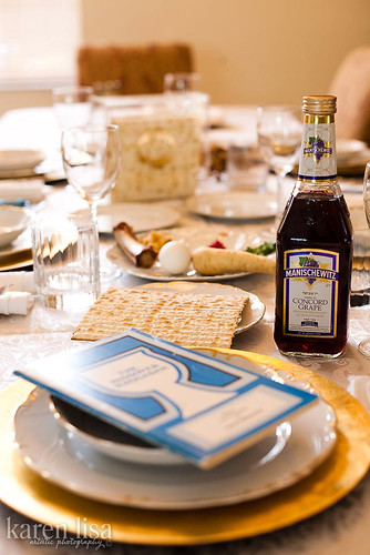 Passover table 2010