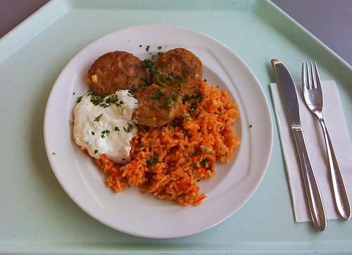Griechisches Bifteki / Greek Bifteki