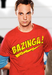 Bazinga T-Shirt - Sheldon Big Bang Theory T-Shirt (myspaces) Tags: party celebrity nerd college halloween comics costume interesting funny university geek humor halloweencostume sd com celebrities halloweenparty nerdy sdcc zardoz2000