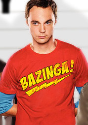 Bazinga T-Shirt - Sheldon Big Bang Theory T-Shirt