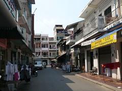 Strasse in Phnom Penh