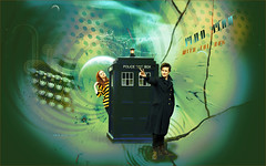 Man with the box (Doctor Who fanart)