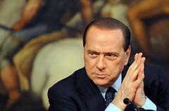 Silvio Berlusconi preoccupato