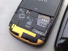 Palm Pre SIM slot