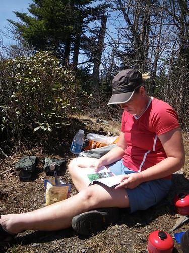 Misti reading