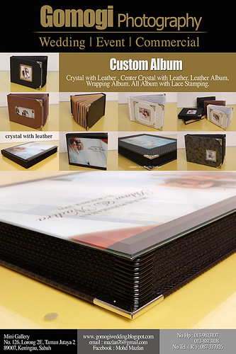 CRYSTAL ALBUM + LEATHER