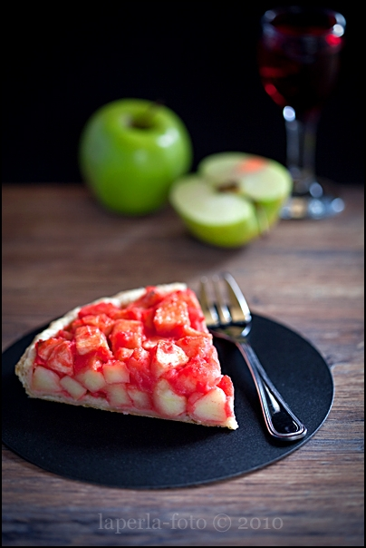 Apple & Grenadine Tart3