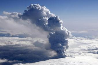 Volcán en Islandia