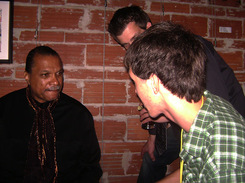 Billy Dee Williams talks with Nick