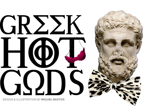 GREEK HOT GODS