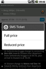 Buy SMS-ticket from STHLM Traveling