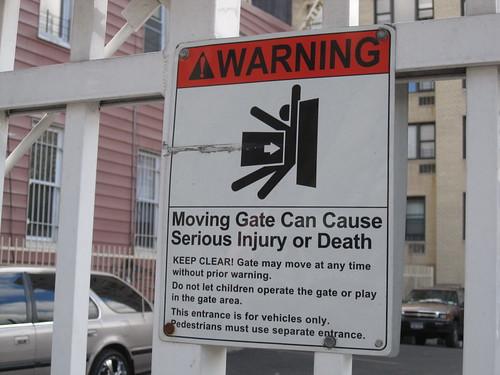 squishing danger
