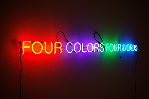 Four Colors Four Words