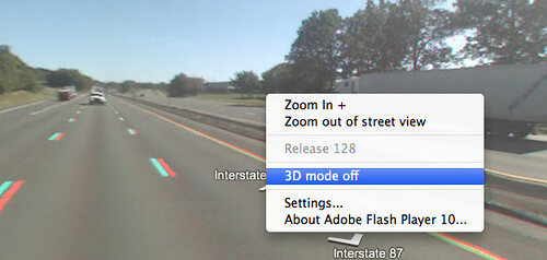 Google Maps 3D Street Views Back