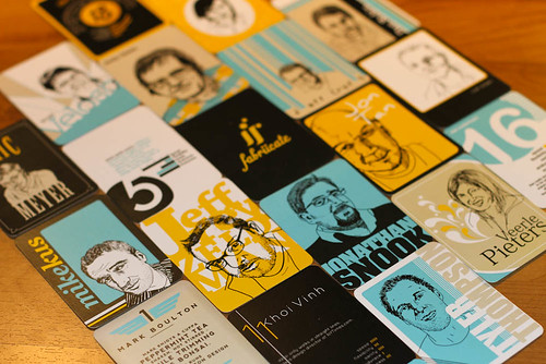 TypeFaces Web Designer Playing Cards Giveaway