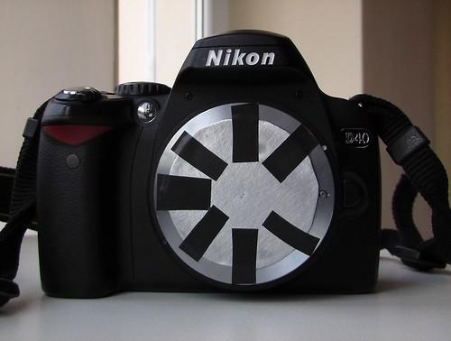 Nikon D40 Pinhole