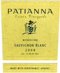 2008 Patianna Sauvignon Blanc