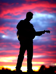 Sunset Silhouette Recording Artist Joey Fehrenbach (gbrummett) Tags: cd lawman stevenseagal sunsetsilhouette flickraward canoneos5dmarkiicamera grantbrummett canonef85mmf12lusmlens recordingartistjoeyfehrenbach joeyfehrenbach