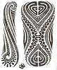 Maori tattoo kirituhi Polinesia Polynesian Tatuaje Tatuagem Polinésia -