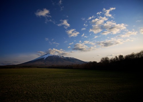 Gentle Sunset over Mt.Iwate