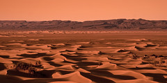 Welcome to Mars (pas le matin) Tags: sky mars orange mountain mountains texture sahara sand rocks desert dunes dune trace sable ciel morocco maroc saharadunes mhamid welcometomars dunesdumaroc dunesdusahara moroccandunes